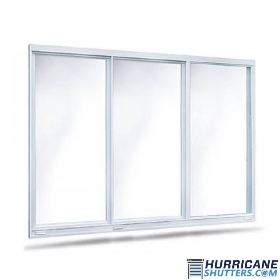 Horizontal Roller Impact Window 8700 Lawson XOX (Full View)