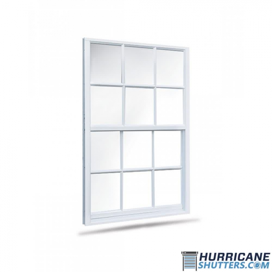 Single Hung Impact Window 7700 Lawson (Colonial)