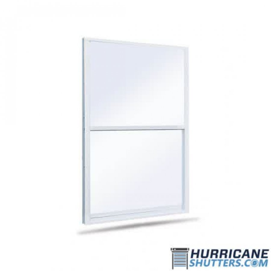 Single Hung Impact Window 7700 Lawson (Full View)